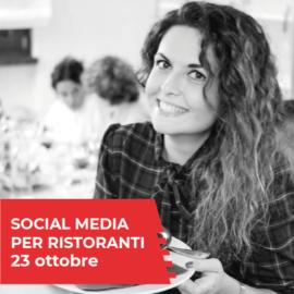 corso socialmedia per ristoranti
